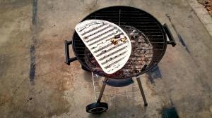 4. Statt Mittagessen kochen, wird gegrillt!